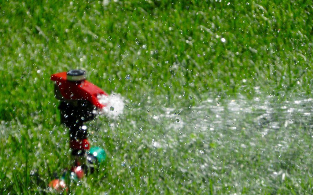 arroser sa pelouse